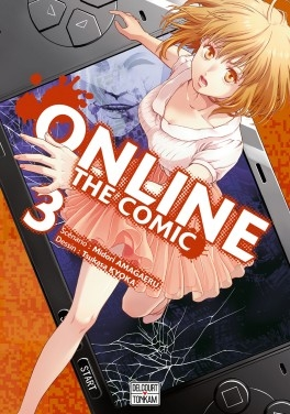 Couverture Online - The comic, tome 3