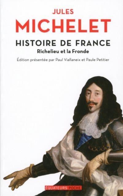 Couverture Histoire de France - Richelieu et la Fronde