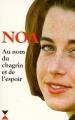 Couverture Au nom du chagrin et de l'espoir Editions Fixot 1996