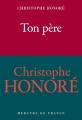 Couverture Ton père Editions Mercure de France (Traits et Portraits) 2017
