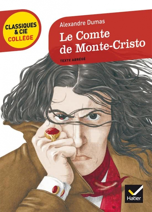 Couverture Le Comte de Monte-Cristo, abrégé