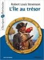 Couverture L'île au trésor Editions Magnard (Classiques & Patrimoine) 2017
