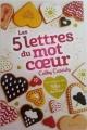 Couverture Les 5 lettres du mot coeur Editions Nathan (Grand format) 2017