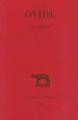 Couverture Les amours Editions Les belles lettres 2003