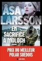 Couverture En sacrifice à Moloch Editions Albin Michel (Spécial policier) 2017