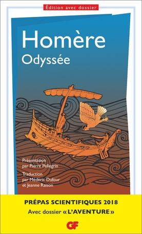 Couverture L'odyssée / Odyssée
