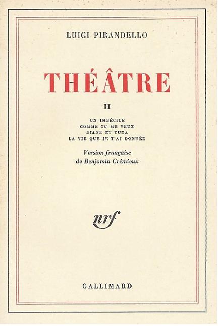 Couverture Théâtre, tome 2