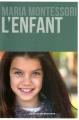 Couverture L'enfant Editions Desclée de Brouwer 2016