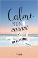 Couverture Calme, mon carnet de méditation Editions Solar 2016