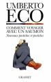 Couverture Comment voyager avec un saumon Editions Grasset 1998