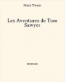 Couverture Les aventures de Tom Sawyer Editions Bibebook 2013