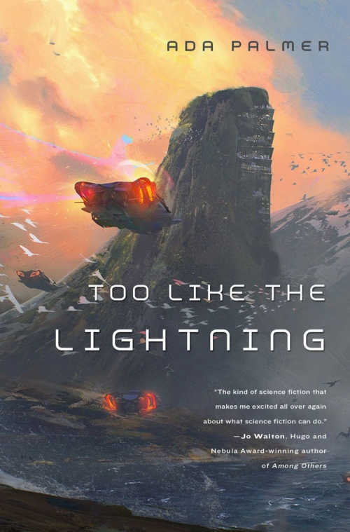 Couverture Terra Ignota, book 1: Too Like The Lightning