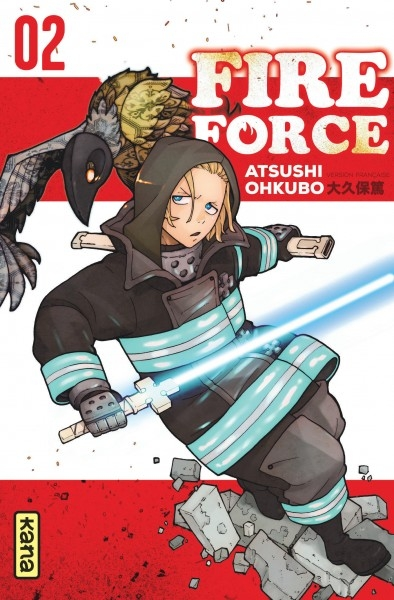 Couverture Fire Force, tome 02