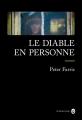 Couverture Le diable en personne Editions Gallmeister (Neo noire) 2017