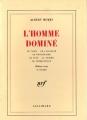 Couverture L'homme dominé Editions Gallimard  1986