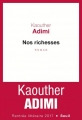 Couverture Nos richesses Editions Seuil (Cadre rouge) 2017