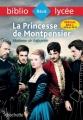 Couverture La Princesse de Montpensier Editions Hachette (Biblio lycée) 2017