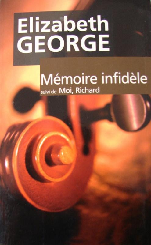 Couverture Mémoire infidèle suivi de Moi, Richard