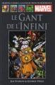 Couverture Thanos : Le Gant de l'Infini Editions Hachette 2015