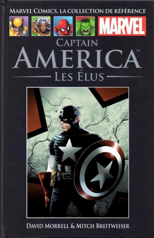 Couverture Captain America : Les élus