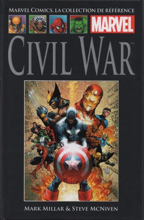 Couverture Civil War, tome 1 : Guerre civile