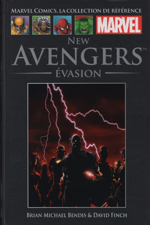 Couverture New Avengers, tome 1 : Evasion