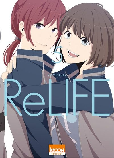 Couverture ReLIFE, tome 05