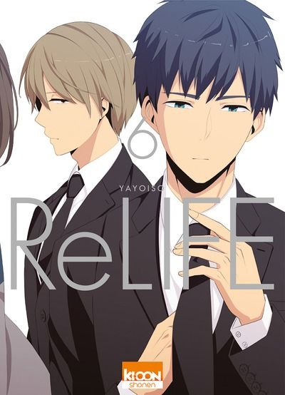 Couverture ReLIFE, tome 06