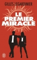 Couverture Le premier miracle Editions J'ai Lu 2017
