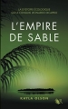 Couverture L'empire de sable Editions Robert Laffont (R) 2017
