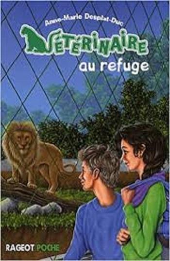 Couverture Vétérinaire au refuge