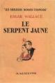 Couverture Le serpent Jaune Editions Ebooks libres et gratuits 2014