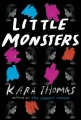 Couverture Little monsters Editions Delacorte Books 2017