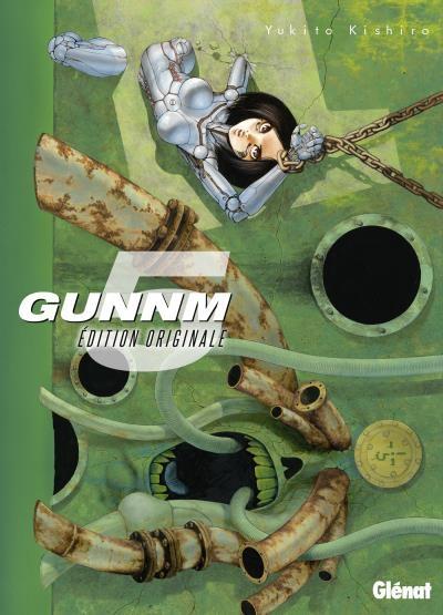 Couverture Gunnm, tome 5