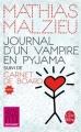 Couverture Journal d'un vampire en pyjama suivi de Carnet de board Editions Le Livre de Poche 2017