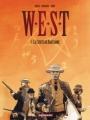 Couverture W.E.S.T, tome 1 : La chute de Babylone Editions Dargaud 2003