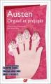 Couverture Orgueil et préjugés Editions Flammarion (GF) 2010