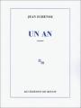 Couverture Un an Editions de Minuit 1997