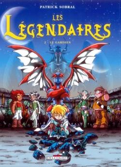 Couverture Les Légendaires, tome 02 : Le gardien
