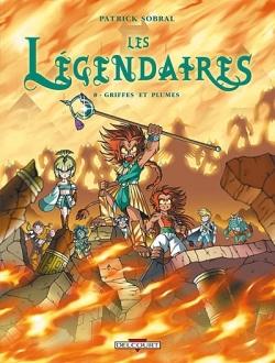 Couverture Les Légendaires, tome 08 : Griffes et plumes