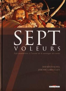 Couverture Sept, saison 1, tome 2 : Sept voleurs