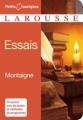 Couverture Les essais / Essais Editions Larousse (Petits classiques) 2008