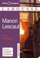 Couverture Histoire du chevalier Des Grieux et de Manon Lescaut / Manon Lescaut Editions Larousse (Petits classiques) 2008