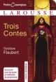 Couverture Trois contes Editions Larousse (Petits classiques) 2008