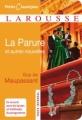 Couverture La parure et autres scènes de la vie parisienne Editions Larousse (Petits classiques) 2009