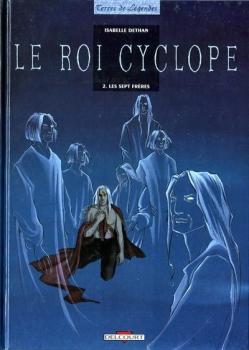 Couverture Le roi cyclope, tome 2 : Les septs frères