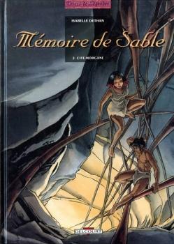 Couverture Mémoire de sable, tome 2 : Cité-Morgane