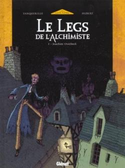 Couverture Le legs de l'alchimiste, tome 1 : Joachim Overbeck