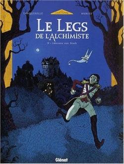 Couverture Le legs de l'alchimiste, tome 2 : Léonora von Stock