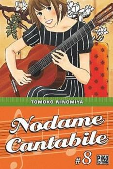 Couverture Nodame Cantabile, tome 08
